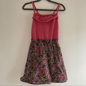 Hanna Andersson girls floral dress size 120 (6-7)